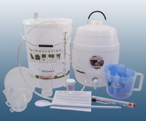 Complete home brew equipment starter kit